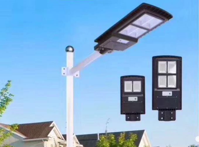 40W LED Integrated Solar Street Light With Light Control Radar Sensor