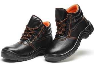 Unisex 42 Size Non Slip ESD Safety Shoes With Steel Toe Cap And Steel Plate