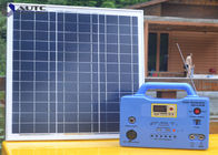 Fuse 15A Household Solar Lighting System 30W Solar Panel With 8M Cable