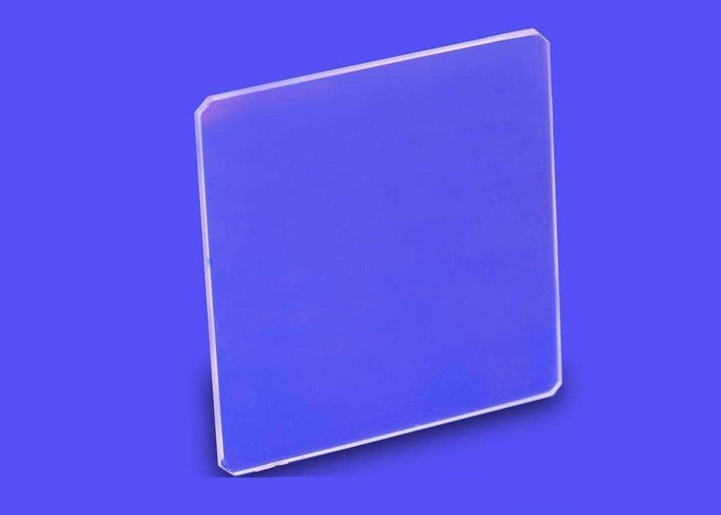 Clear Tempered Borosilicate Float Glass Chemical Resistance Square / Round Shaped