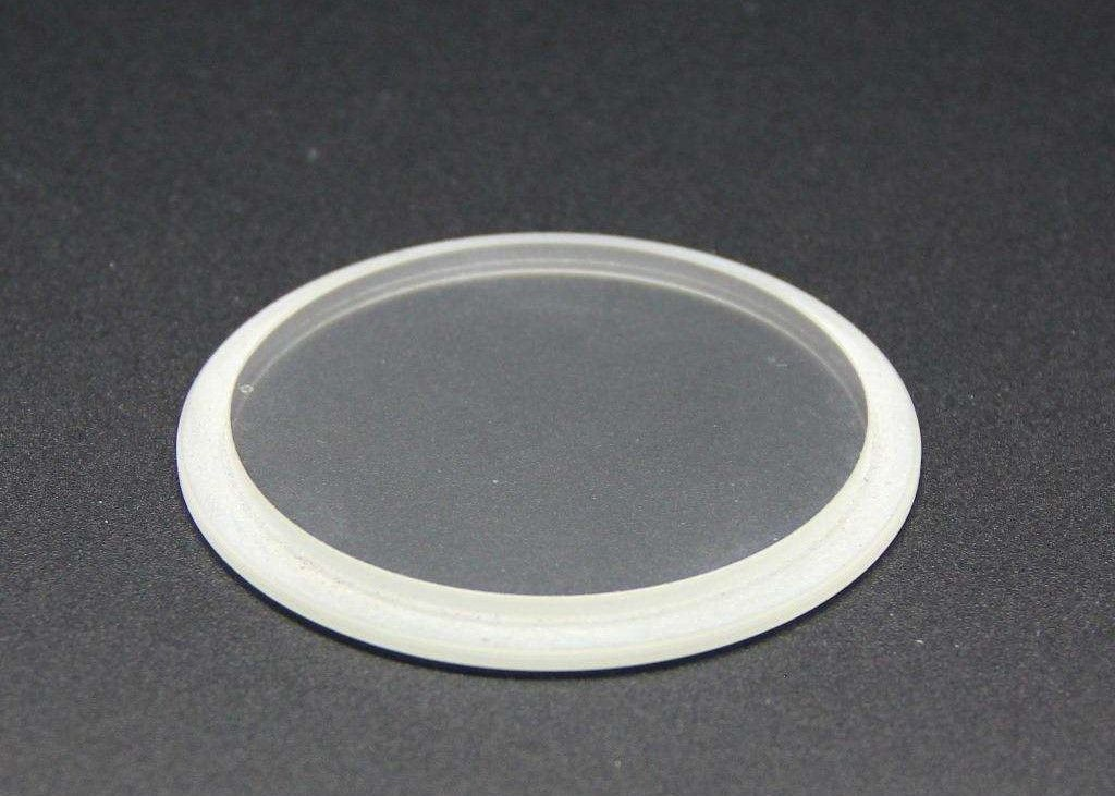 Round Extra Clear Borosilicate Float Glass for Appliance Observation Windows