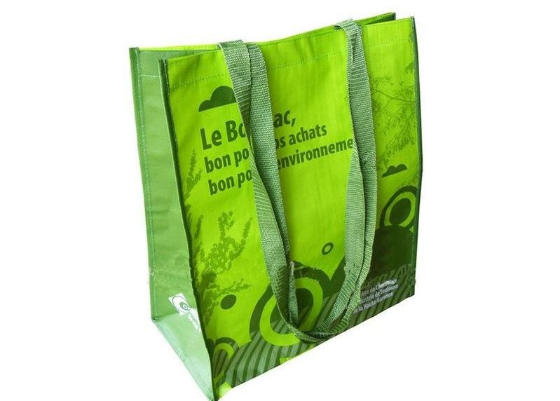 Foldable Non Woven Fabric Bags , Non Woven Handle Bags OEM / ODM Service