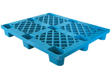 China Euro HDPE Plastic Heavy Duty Pallets , Industrial Plastic Pallets 1300mmx1100mm factory