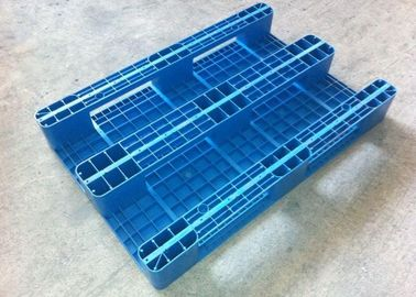 China Fire Retardant Heavy Duty Plastic Pallets , 4 Way Plastic Shipping Pallets factory