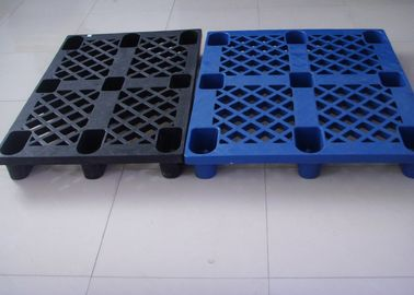 China 1200mmX800mm Euro Plastic Heavy Duty Pallets 1 Ton Load Capacity for Cargo factory