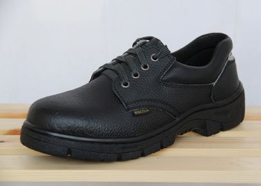 Work Wear Steel Toe Cap Industrial Safety Shoes For Engineers / Workers