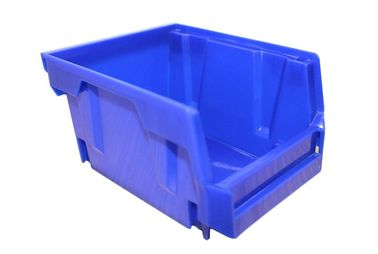 Strong Industrial Plastic Storage Boxes Stackable Bins For Warehouse And Garage