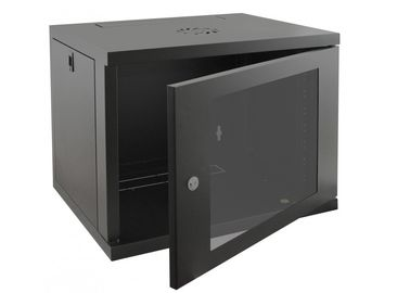 9U Wall Mounted Network Rack Cabinet Waterproof DDF Server Enclosure Single Section