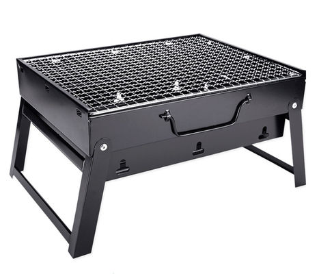 35*27*19.5cm Outdoor Portable Folding Grill Bbq Camping Grill Small Charcoal Grill