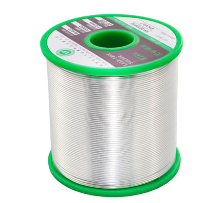 Dia. 0.5-1.5mm 500G/Roll Lead-Free Tin Wire Rosin Solid Core Solder Wire For Electrical Soldering Welding